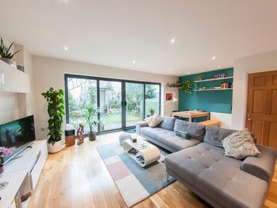 Photo for Stylish 3BDR Peckham house: private parking+garden