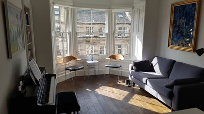 Photo for Beautiful, quiet New Town apartment in a central location