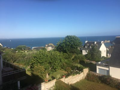 Photo for VAL-ANDRÉ, 400m from the beach, beautiful house with sea view