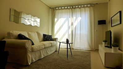 Photo for Apartment on the beach with sea view for 2 people