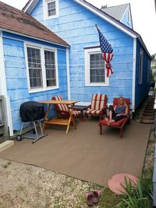 Photo for Ship Bottom Ocean Side Beach Cottage For Grillin / Chillin - 316 Feet To The Bea