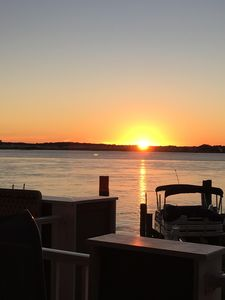 Sunset views from your private deck