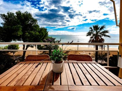 Photo for 3 bedroom Apartment, sleeps 5 with Pool, FREE WiFi and Walk to Beach & Shops