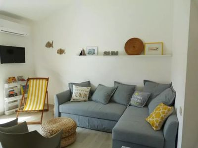 Photo for GIORGIONE HOUSE. Brand new three-room apartment with terrace near the sea