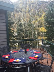 Photo for East Vail Mountain Home-Hot Tub-Steps away from bus- Ideal Location