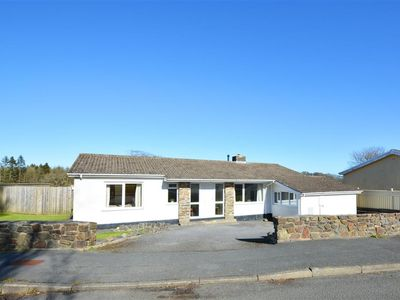 Photo for Castle View is a lovely large detached bungalow on the edge of the popular seaside resort of Saunder