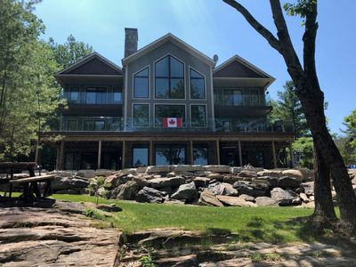 Photo for Luxury Cottage Living on the Shores of the Beautiful Trent Severn Waterway