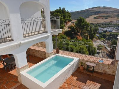 Photo for Cosy apartment for 10 guests with private pool, A/C, WIFI, TV and parking