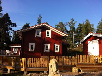 Photo for Wonderful log home in the highest class in the Stockholm archipelago