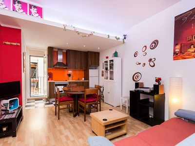 Photo for Cozy house close to Sants train station, well linked to city center