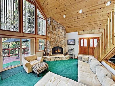 Great Room - Welcome to Lake Arrowhead! This home is professionally managed by TurnKey Vacation Rentals.