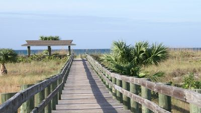 Photo for Sea, Sand & Sunshine!! Ocean View, Golf Cart, Ferry, Pool, Boat Dock, Parking
