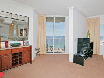 Photo for Resort condo w/ free WiFi, shared pool & amenities, just steps from the beach!