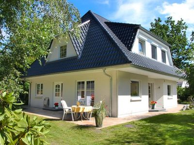 Photo for modern cottage m. large garden, beach and forest nearby, wireless