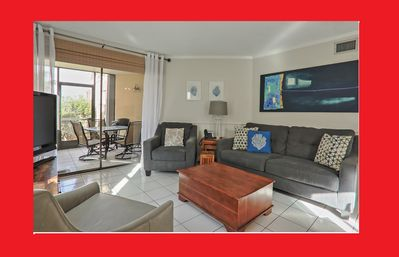 "Photo for Jun 1-10 avail!! OceanView Cayman Reef 36 Beautiful condo King Bed new 65"" TV"