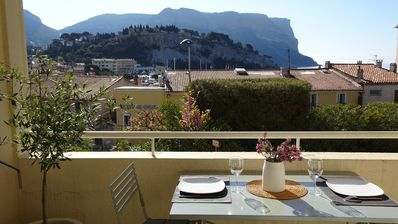 Photo for NEW Cassis apartment the harbor, behind the port, nice view and parki
