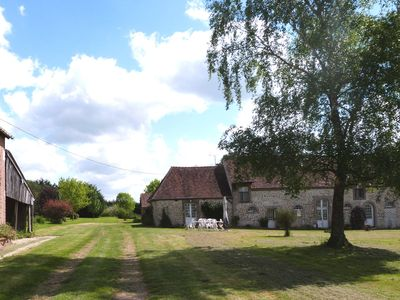 Photo for Percheron farmhouse and its exceptional environment in the Normandy countryside
