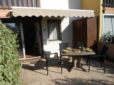 Photo for Garden Apartment with direct access to the beach, suitable for all the family.