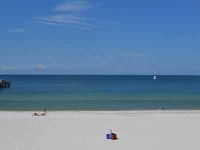 Condo view Beautiful blue skies, soft sand & turquoise warm water . . . paradise