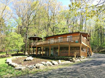 Photo for Owl's Nest - 3 Bedroom Lake Area Home with Hot Tub