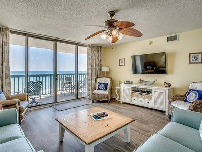 Photo for Ocean Bay Club 1003, 3 Bedroom Beachfront Condo, Hot Tub and Free Wi-Fi!