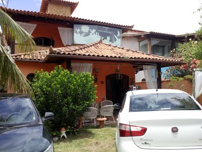 Photo for Beautiful 5 bedroom 4Suite, cozy house between Geribá and Ferradura