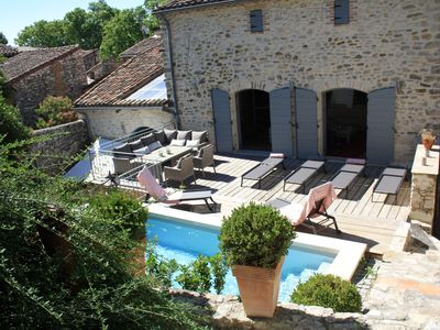 Photo for Furnished tourist class 5 * in medieval village of VEZENOBRES
