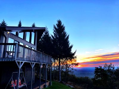 Photo for Chalet in the Sky in the Heart of the Poconos