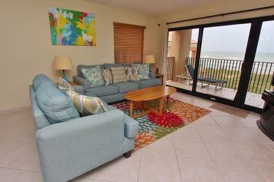 Great Ocean Views From The Living Room Area