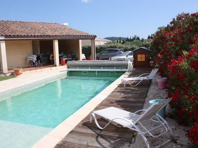 Photo for VILLA 4 CH, Heated pool, ideal family holiday