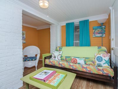 Photo for Great walkability to beach, pier and town make this a perfect couple's hideaway