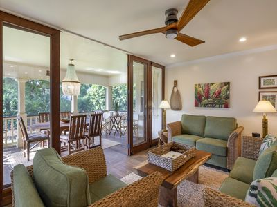 Photo for Prime Poipu Location - Remodeled Home with New Split Air Conditioning System
