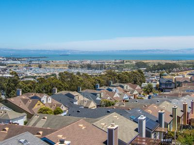 Photo for Newly listed SF Border Luxurious Home with SF Bay Views & 20ft vaulted ceilings