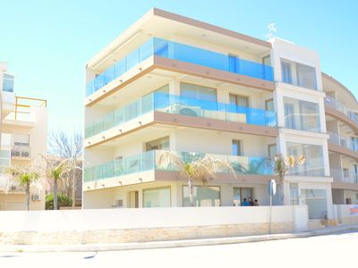 Photo for Yachting II apartment in Letojanni with WiFi, integrated air conditioning & private terrace.