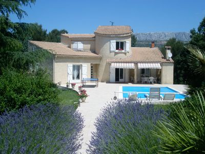 Photo for 5BR Villa Vacation Rental in Châteauneuf-Le-Rouge, Provence-Alpes-Côte-D'Azur