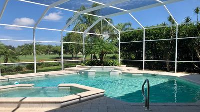 Photo for New listing!  Naples 4 bed w/ Coastal Vibe Decor, Tennis, Golf, Private Pool