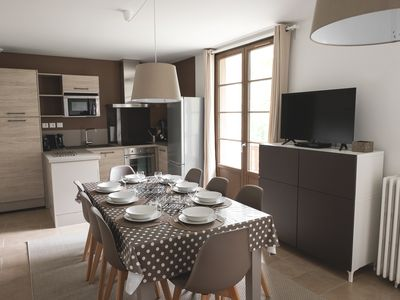Photo for T4 - 4 stars - private parking - sauna - balcony 8 m² gym-wifi