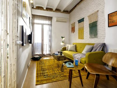 Photo for Poblenou Beach - One Bedroom Apartment, Sleeps 3