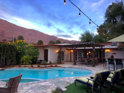 Photo for Palm Springs Desert Star, Classic Hacienda Style Luxury 4BR Resort Home Pool Spa
