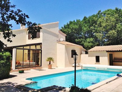 Photo for Grande Provence charming villa with pool, 6 bedrooms, classified 4 stars