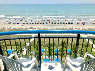 Photo for Amazing oceanfront suite in the heart of Myrtle Beach, Jetted Tub and more
