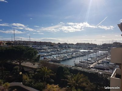 Photo for Cap d'Agde T2 apartment sea view