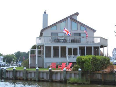 Photo for On the BAY, walk to the BEACH...views and convenience! Summer rent Sat-Sat