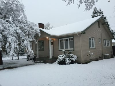 Wintertime - front of house
