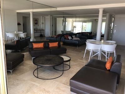 Photo for Luxury, Design, 1 Bedroom, Sea View, Air Con, Cannes Palm Beach