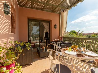 Photo for Luxurious 3 bedroom penthouse in the Palmeraie by BNB-KEYS MARRAKECH