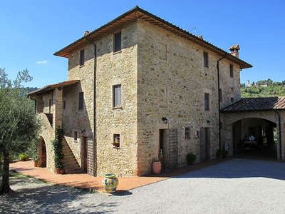 Photo for Apartment in Stone House in Umbrian Countryside with Pool
