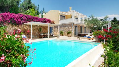 "Photo for Luxurious design villa next to the two sister villas ""Blue and Rossa"""