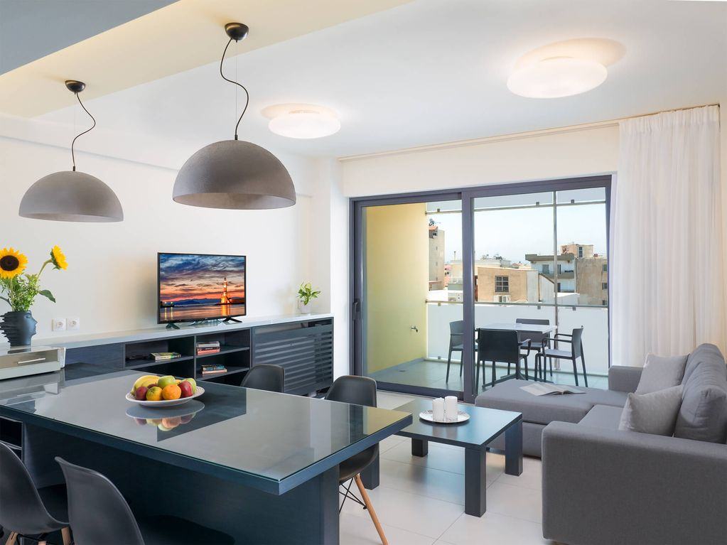 Modern 2 Bedroom Apartments In Chania City Center Spring