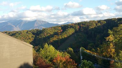 "Photo for Excellent Mt LeConte/Ober ski slopes view!  Hot tubs, sauna  55"" TV wifi"